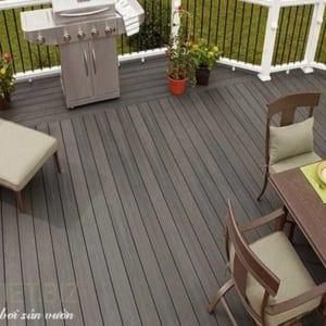 sàn gỗ ngoài trời, ván sàn ngoài trời, gỗ nhựa ngoài trời