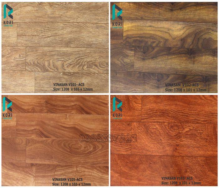 Ván lót sàn gỗ Vinasan V103 thái lan