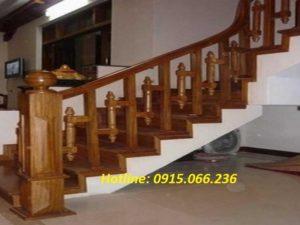 cau thang, cau thang cong nghiep,Cầu thang gỗ công nghiệp tại Hà Nội