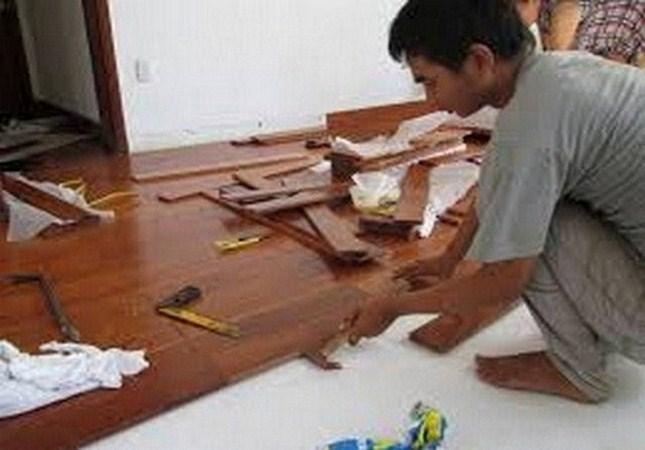 sửa chữa sàn gỗ công nghiệp giá rẻ, san go,Báo giá sàn gỗ công nghiệp tại Hà Nội