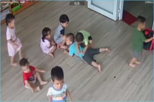 sàn gỗ vinasan trường học