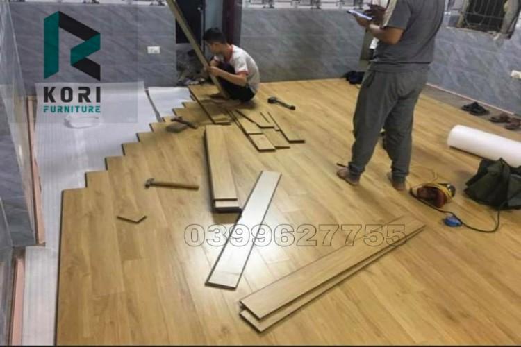 thi công sàn gỗ công nghiệp tại Đồng Nai