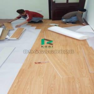 Sàn nhựa giả gỗ Vĩnh Long