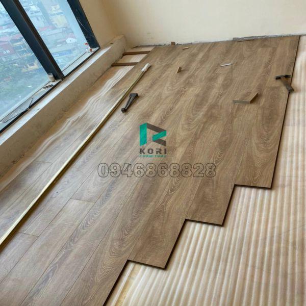 Thi công sàn gỗ công nghiệp An Giang