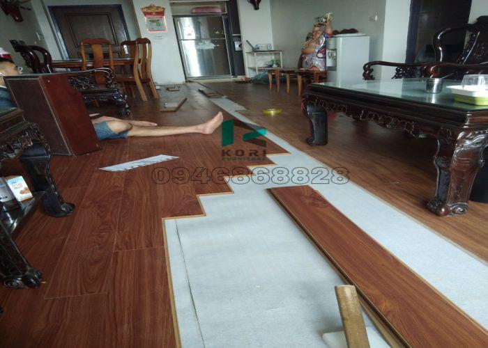 Thi công sàn gỗ công nghiệp Quảng Nam