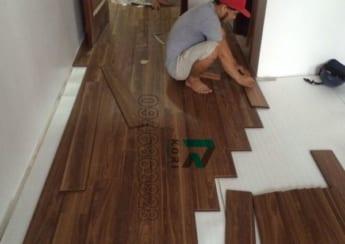 Thi công sàn gỗ công nghiệp tại Lào Cai