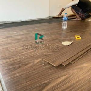 Thi công sàn gỗ công nghiệp tại Tuy Hòa