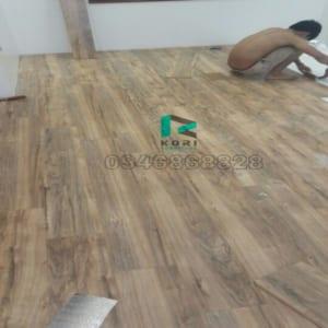 Thi công sàn gỗ công nghiệp tại Vĩnh Long
