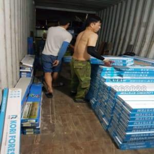 Kho sàn nhựa giả gỗ Bắc Ninh
