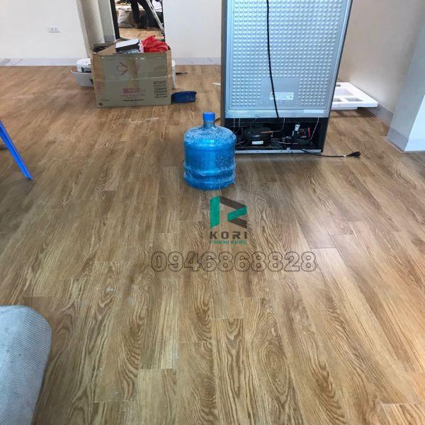 Sàn nhựa giả gỗ Bến Tre