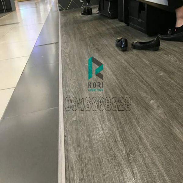 Sàn nhựa giả gỗ hèm khóa Bắc Giang