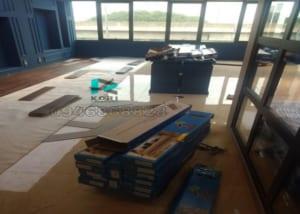 Thi công sàn nhựa giả gỗ