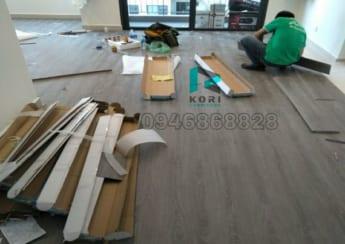 Sàn nhựa hèm khóa giả gỗ