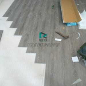 Thi công sàn nhựa Điện Biên