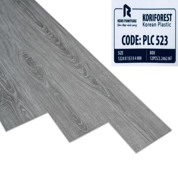 Sàn nhựa hèm khóa giả gỗ Koriforest PLC 523