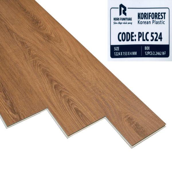 Sàn nhựa hèm khóa Koriforest PLC 524