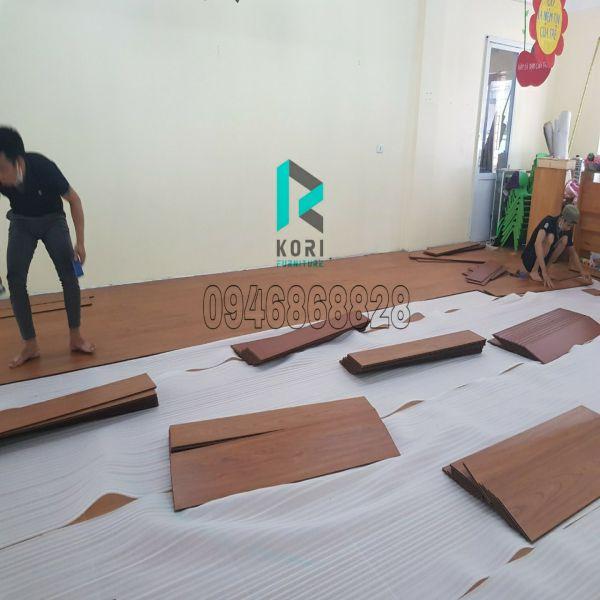 Thi công sàn gỗ tại Bắc Từ Liêm