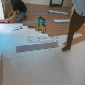 Thi công sàn nhựa giả gỗ Đà Nẵng