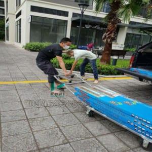 Vận chuyển sàn nhựa giả gỗ tại Đà Nẵng