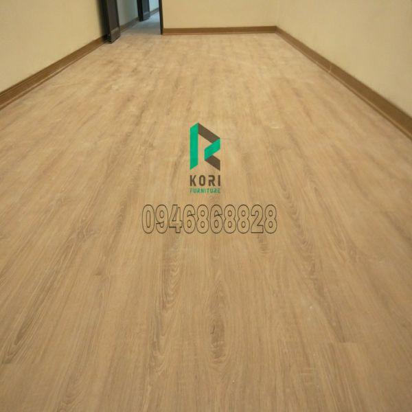 Sàn nhựa giả gỗ Koriforest nhập khẩu Hàn Quốc